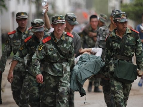 Raw: Strong Quake Kills 367 in Southern China