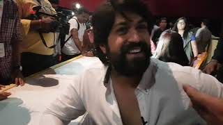 Kgf trailer launch interview with Kannada actor yash | KGF TRAILER