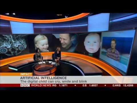 Bbc World News Impact - Interview Dr Mark Sagar Baby X video
