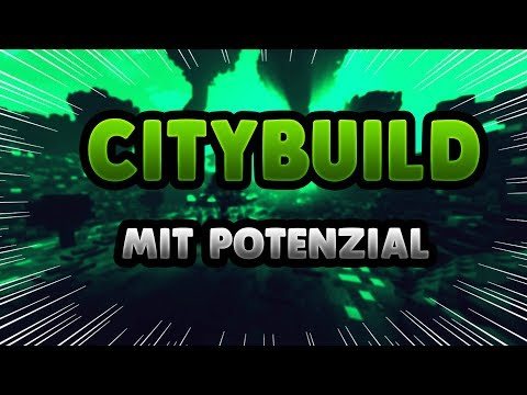 CITYBUILD SERVER mit POTENZIAL!! - Minecraft Server Vorstellung 1.8 || Deutsch/German