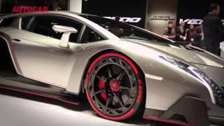Geneva Motor Show 2013  Ferrari, McLaren, Lamborghini, Alfa Romeo, Rolls Royce   autocar co uk mp4