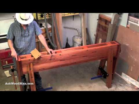 1 of 34: How To Build A Roubo Work Bench: AskWoodMan Style