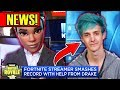 Ninja on the NEWS! CNBC! Earns $500,000 a Month! Fortnite Best Moments MP3