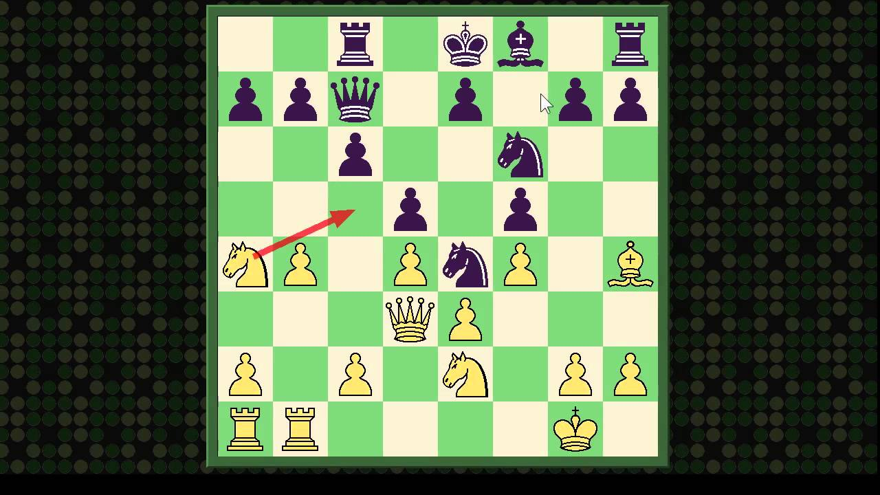 Chess Miniature: Veresov Opening