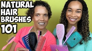 Natural Hair Brushes 101 | Great Detangling & Styling Brushes