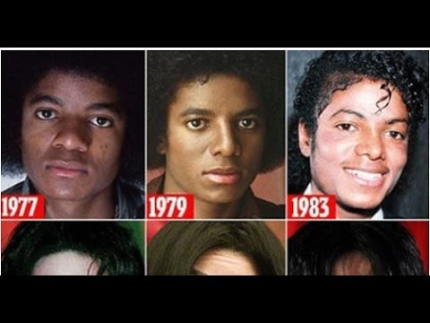 These 9 Pictures Shows How Michael Jackson's Face Changed Over The Years