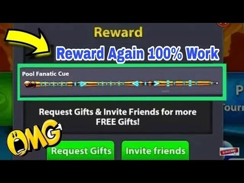 8 Ball Pool ( Pool Fanatic Cue ) Again Upgrade Link 2018 Any Time Reward Link #1