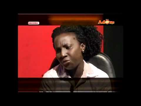 Watch Exclusive Akua Vic Agya Koo's Wife Interview on Adom TV