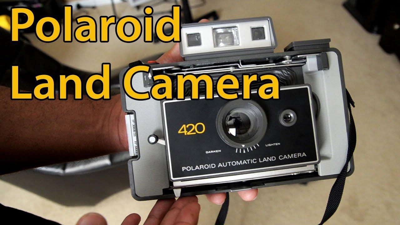 Polaroid 420 Automatic Land