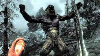 Elder Scrolls V Skyrim : Official Gameplay Trailer