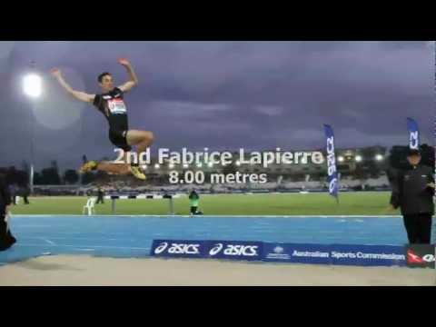 2012 Melbourne Classic long jump men