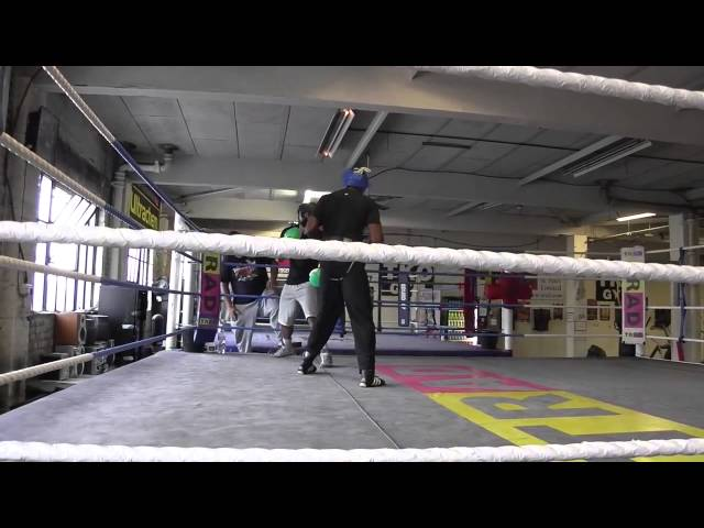 Sparring Darren Hamilton vs Robert Asagba UK Boxing - EsNews boxing