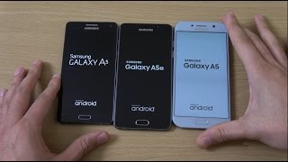 Samsung Galaxy A5 2017 vs A5 2016 vs A5 2015 - Speed Test!