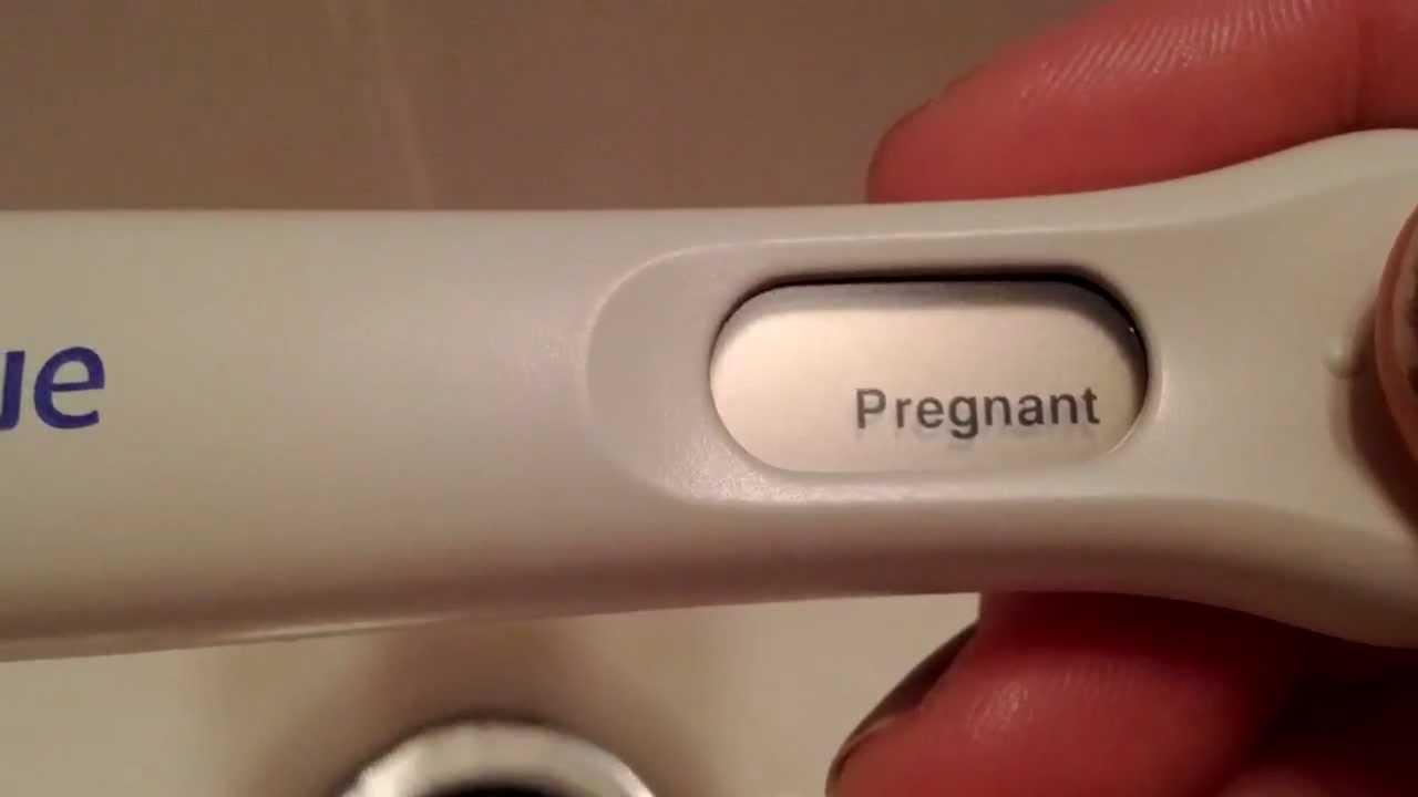 Pregnancy Test Prank Demo