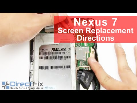 Google Nexus 7 Tablet Repair Directions | DirectFix