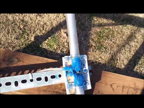 Homemade VHF Scanner Radio Dipole Antenna
