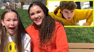 "Gracie & Olivia REACT to ""Monsters"" By MattyBRaps"