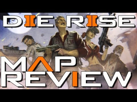 Black Ops 2 Zombies: Die Rise Map Review - Best Map Yet?