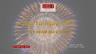 MD-7 2017 Thanksgiving promotion Mua 1 tang 1