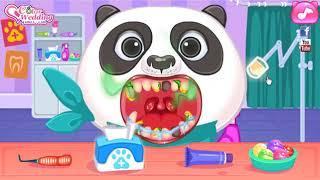 Animal Star Doctor Baby Panda Fun Game For Kids