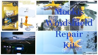Mookis Windshield Repair Kit to Fix Car Cracks,Chips,Bull's Eyes and Stars