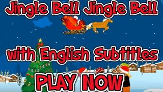 Jingle Bell Jingle Bell with English Subtitles - Nursery Rhymes