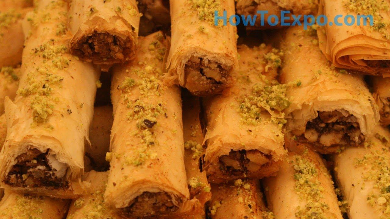 Baklava Recipe Turkish Baklava Fingers Recipe How to