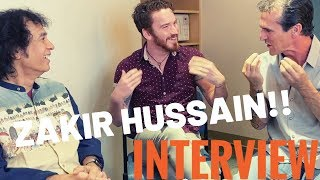 USTAD ZAKIR HUSSAIN INTERVIEW!! | by Our Stupid Reactions