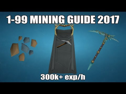 [Runescape 3] 1-99 Mining Guide 2017   Fast & AFK Methods
