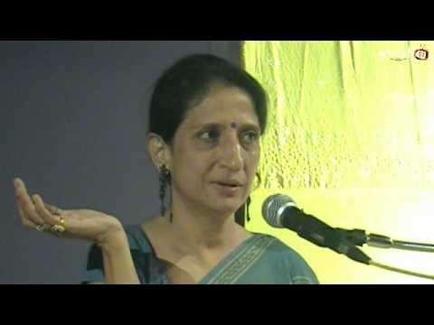 Kajalben Oza's Speech in Memory of Jayntibhai Kundaliya Organised by Rajkot Kelavani Mandal,part-2