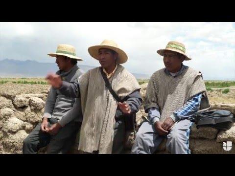 Lago Poopó: Sin agua y sin tierra