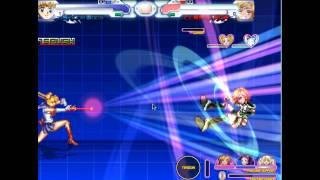 Mugen-Sailor Moon fights
