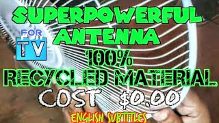 download musica ANTENNA TV MADE AT HOME 100% Waste Material Antena Casera costo $ 000