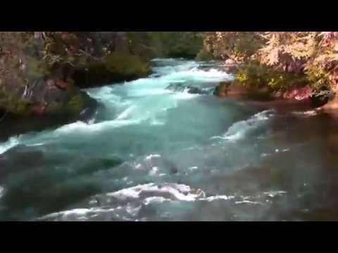 The Beauty of Flowing River-Norway
