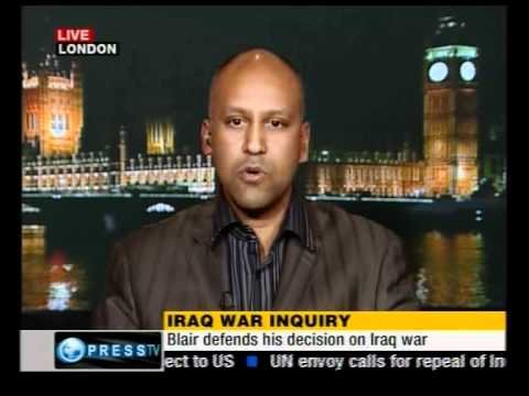 Shahrar Ali reviews Blair's submission to Chilcot Enquiry, 21 Jan 2011.