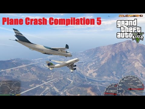 GTA V Longer Extreme Plane Crash Compilation 5 (Part 23)