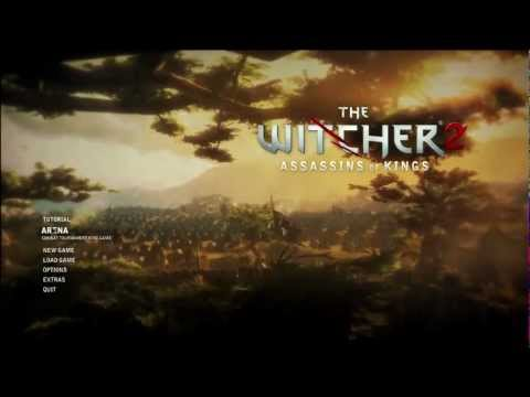 Lets Play Witcher 2 Tutorial & Dark Walkthrough [PC. PS3. Xbox 360]