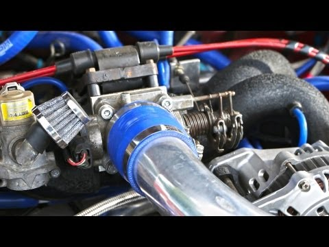 Modified Impreza Engine - Borg Warner Turbo
