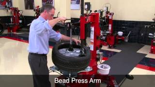 TCX51 Heavy Duty Professional Tire Changer - Hunter Engineering