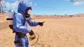 Rust - Ученые NPC наступают! Счетчик Гейгера!