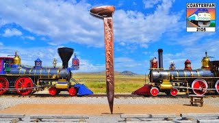 Golden Spike Historic Site: Train Talk Ep. 11