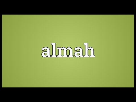 Header of almah