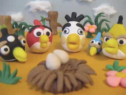 Angry Birds stop motion movie