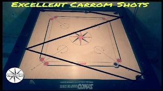 Excellent Carrom Shots by Ashraf khan | Strike & Pocket |