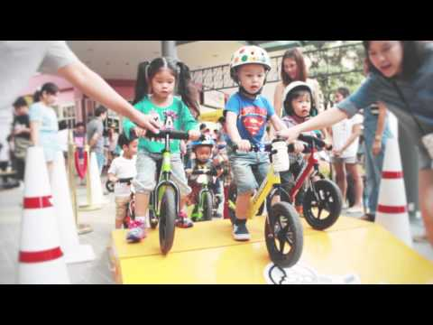 รวมตัวจักรยานเด็ก Strider Bike : STRIDER FUN DAY @ The Promenade Bike Fest 2014