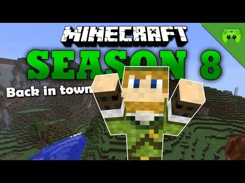 BACK IN TOWN «» Minecraft Season 8 # 120 HD