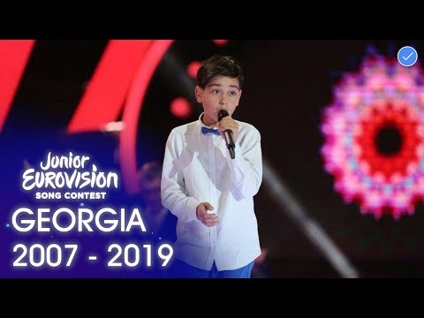 Georgia in The Junior Eurovision Song Contest 2007 - 2019