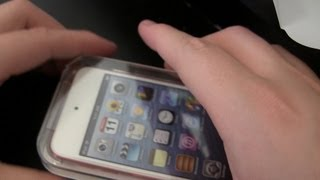 Unboxing - iPod touch 5th Generation + Setup