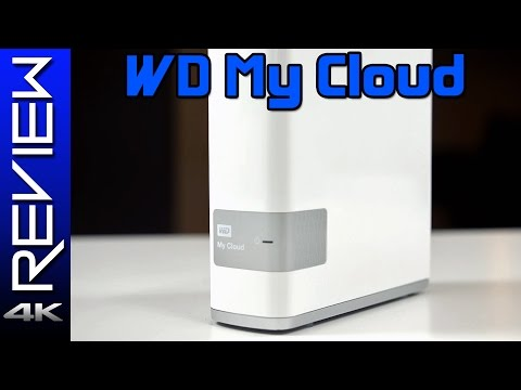Western Digital My Cloud Review - Cheap and Easy Network Storage Hard Drive (WD MyCloud)