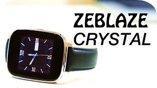 Zeblaze Crystal Smartwatch Review | 4K